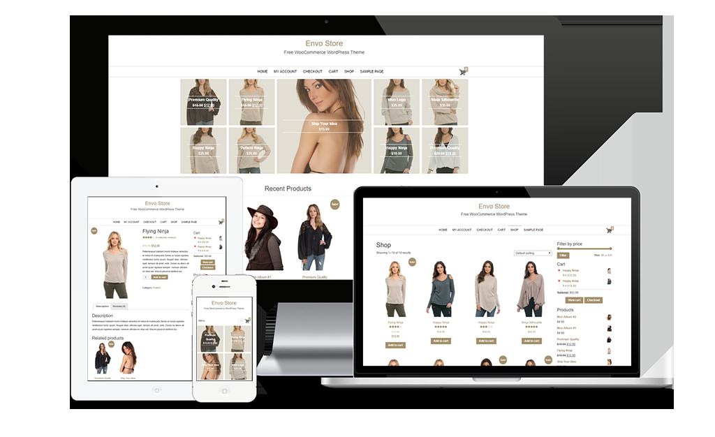 Envo Store Free WooCommerce WordPress Theme