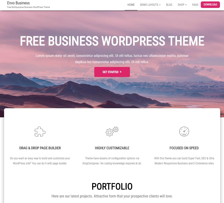 Envo Business – EnvoThemes