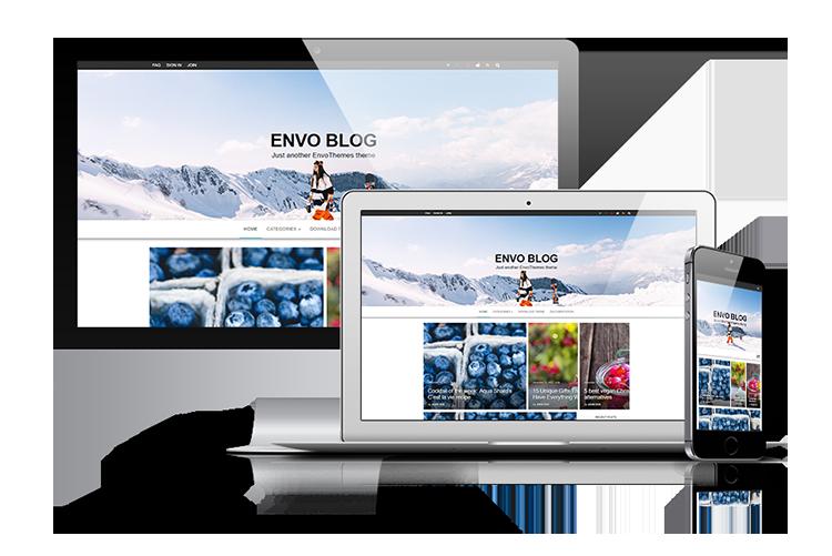Best free blogging WordPress Theme 2018 - Envo Blog