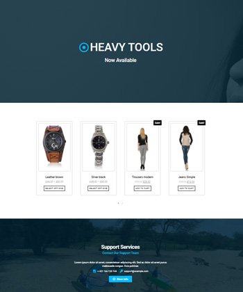 Elementor WooCommerce Template